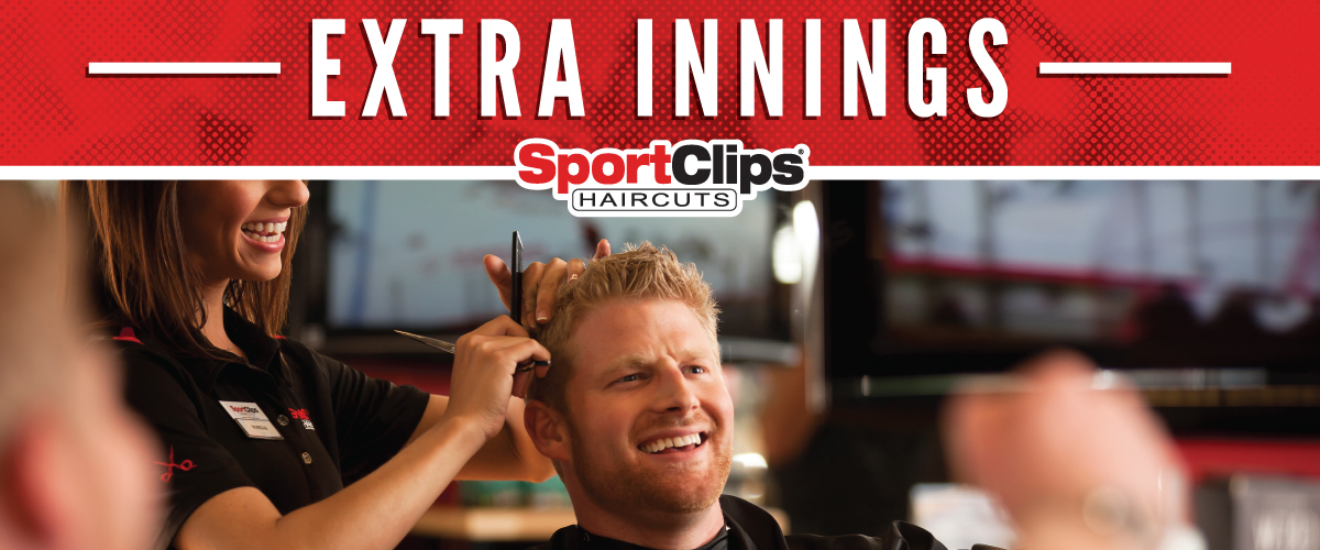 The Sport Clips Haircuts of Edwardsville  Extra Innings Offerings